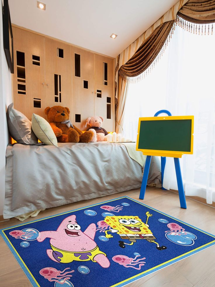 Buy Sponge Bob Square Pants Childrenu0027s Rug Online