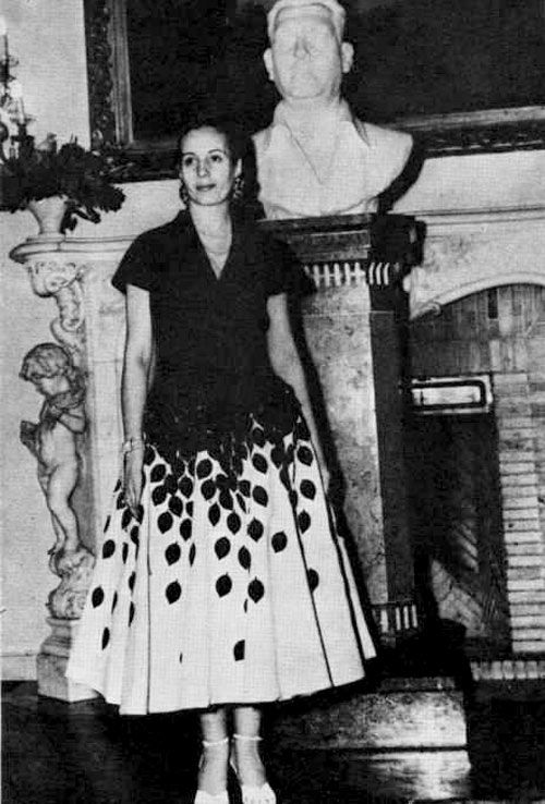 """My biggest fear in life is to be forgotten."" Eva Perón  #modcloth #styleicon"