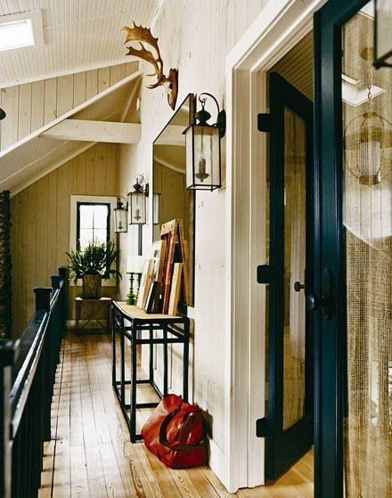 inspiration love the color palette and masculine feel of thom lake house