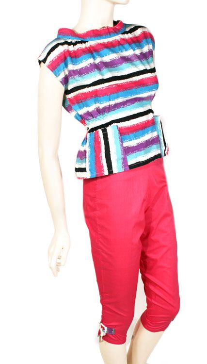 1950 women blouse and pants | ... Clothing for Women » 1950s Women's Clothing » 1950s Summer Outfit