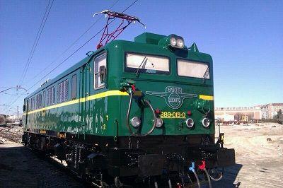 """La locomotora histórica 289-015 vuelve al Museo del Ferrocarril"""