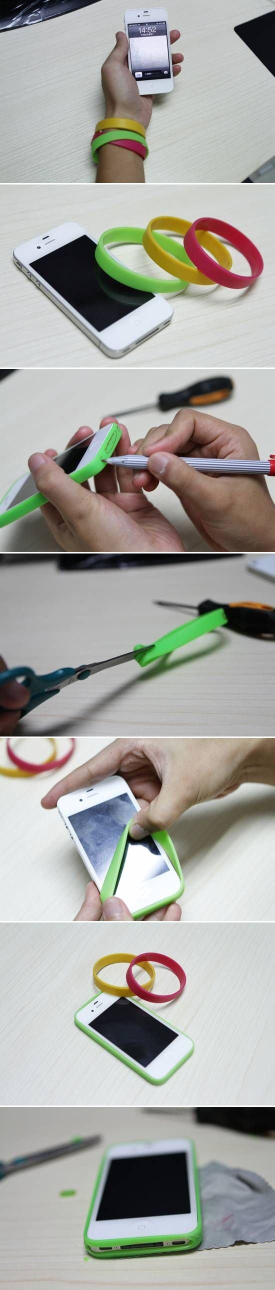 How to Make Easy DIY iPhone Bumper Case #craft