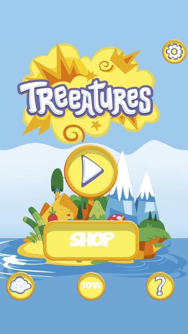 TREEATURES - Play and mix the Treeatures Plush Toys in funny and awesome combinations! (Screenshot)