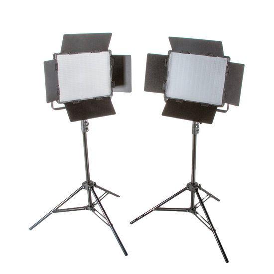 Bresser LED Foto-Video Set 2x LS-900 54W/8.860LUX  Bresser LED Foto-Video SET 2x LS-900 54W/8.860LUX  2x Statief  De set bestaat uit:  2x LS-900 LED-lamp  2x Statief D-46 tot 240cm  2x 5600K diffuus filter  2x 3200K kunstlicht filter  2x 4 kleppenset  2x Netsnoer  Beschrijving: Bresser is een grote speler in de ontwikkeling van hoogwaardige LED lampen voor de foto en video studio. Doorlopend worden deze nieuwe ontwikkelingen in hun modellen toegepast. De Bresser LED lampen vallen op door hun…