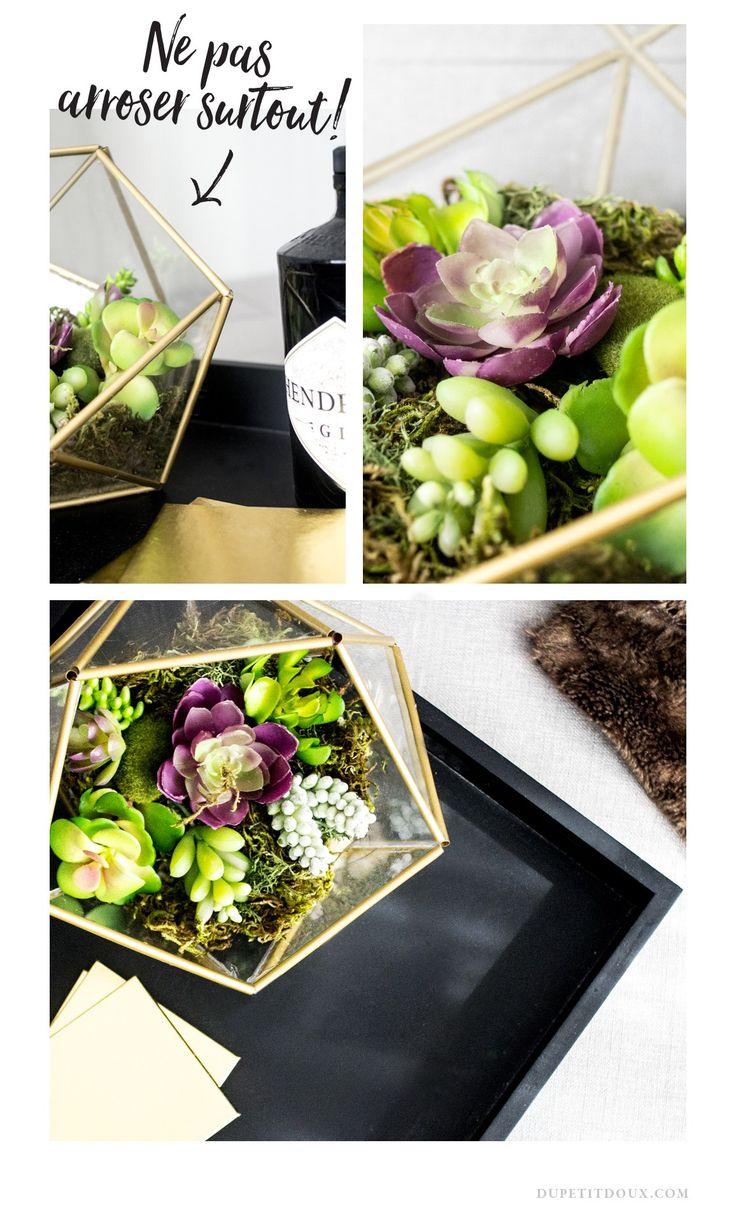 17 meilleures id es propos de fausses plantes sur pinterest plantes de salle de bains. Black Bedroom Furniture Sets. Home Design Ideas