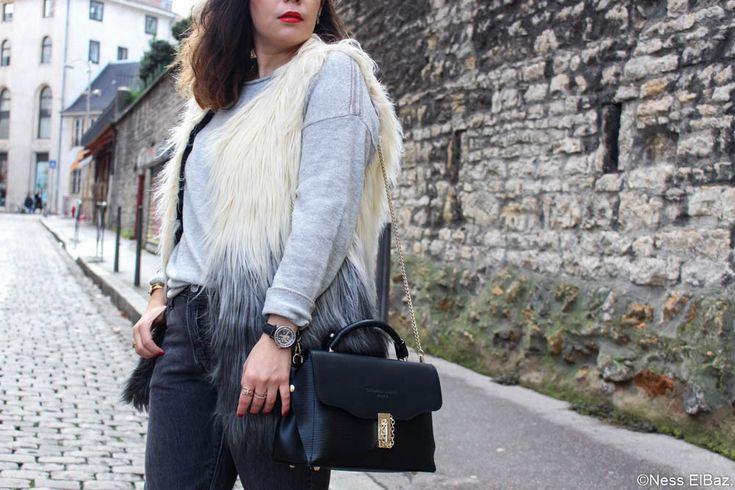 Streetlook Lyon, faux-fur