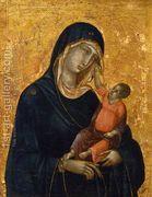 Virgin and Baby  by Duccio Di Buoninsegna