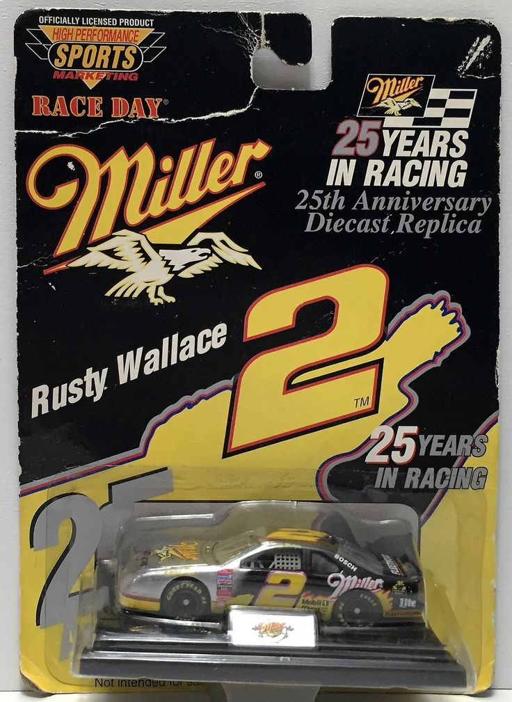 (TAS034511) - 1996 Revell Monogram Race Day Miller Collectible - Rusty Wallace