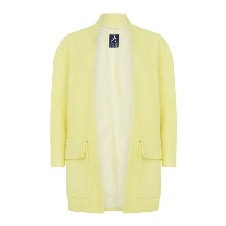 Primark - Gele, halflange jas