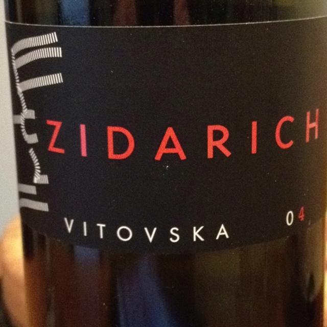 Incredibly fresh and complez vitovska 2004 by Zidarich