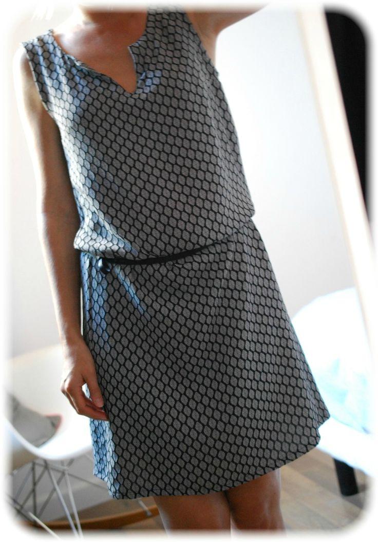 J'en ai cousu 3, et c'est vraiment MON patron de robe préféré, je l'adore, je parle de Estivale de Mlm Patrons, achetéaprès avoir vu...