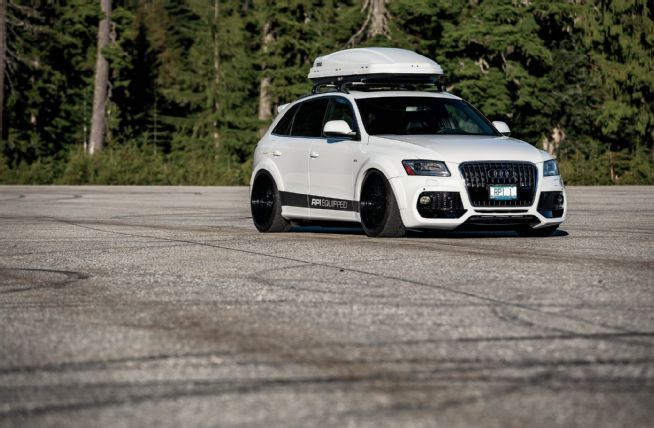 2014 Audi Q5 TDI S Line Caractere Front Spoiler 06