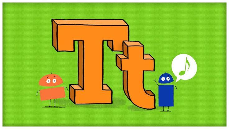 "ABC Song: The Letter T, ""Time For T"" by StoryBots"