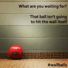 Crossfit meme - wall balls