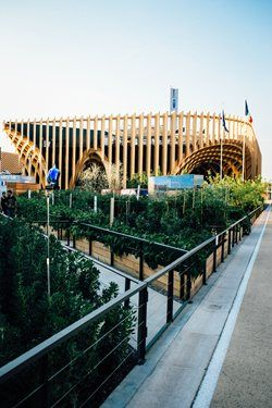 France Pavilion at Expo Milano 2015, Milano, 2015 - XTU architects