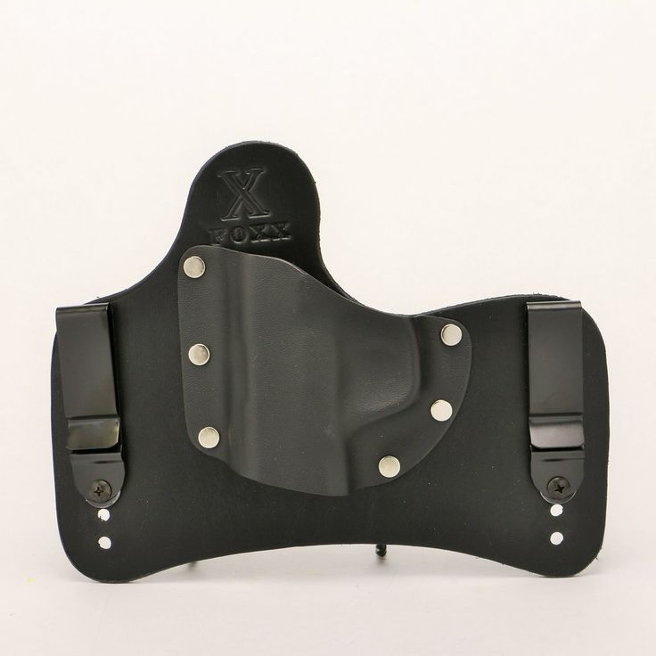 "Wanting a Small of Back Holster! This Hybrid holster is for IWB concealed carry in the ""Small of Back"" SOB position. Adjustable for Ride Height & Forward Cant"