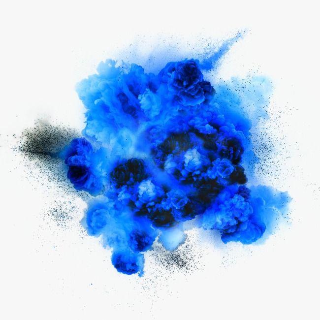 Explos 227 O De Fuma 231 A Azul Design Criativo Azul Bonito