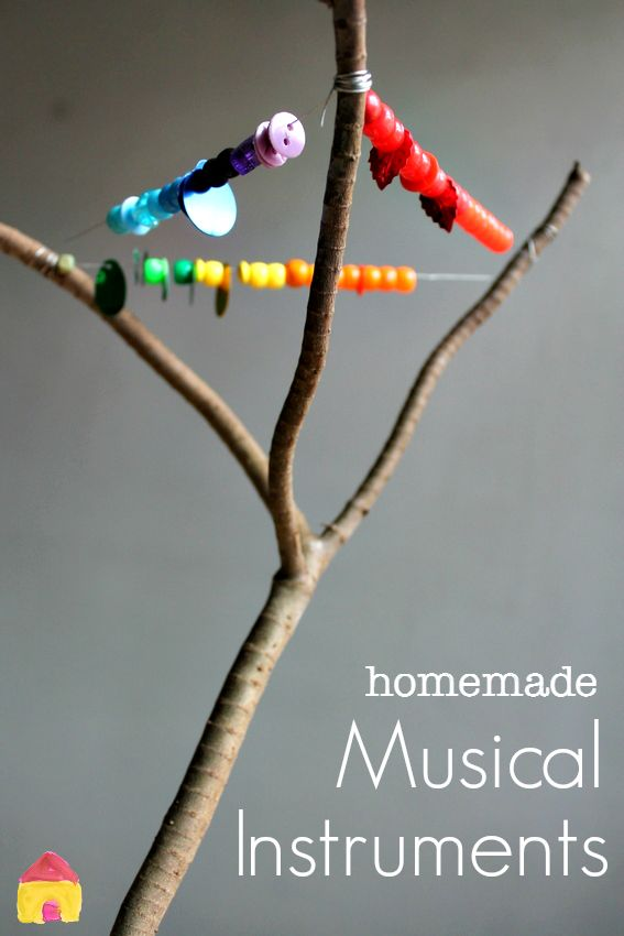 easy homemade musical instruments for kids