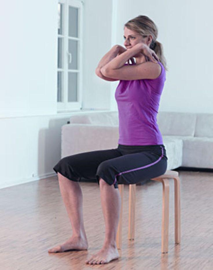 Nackentraining gegen Verspannungen