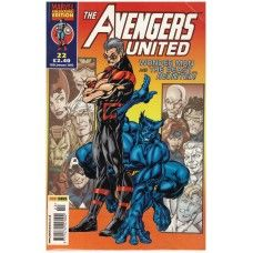 The Avengers United #22 from Marvel/Panini Comics UK. 15th January 2003 issue. In very good condition internally and cover. Bagged and boarded. £2.00