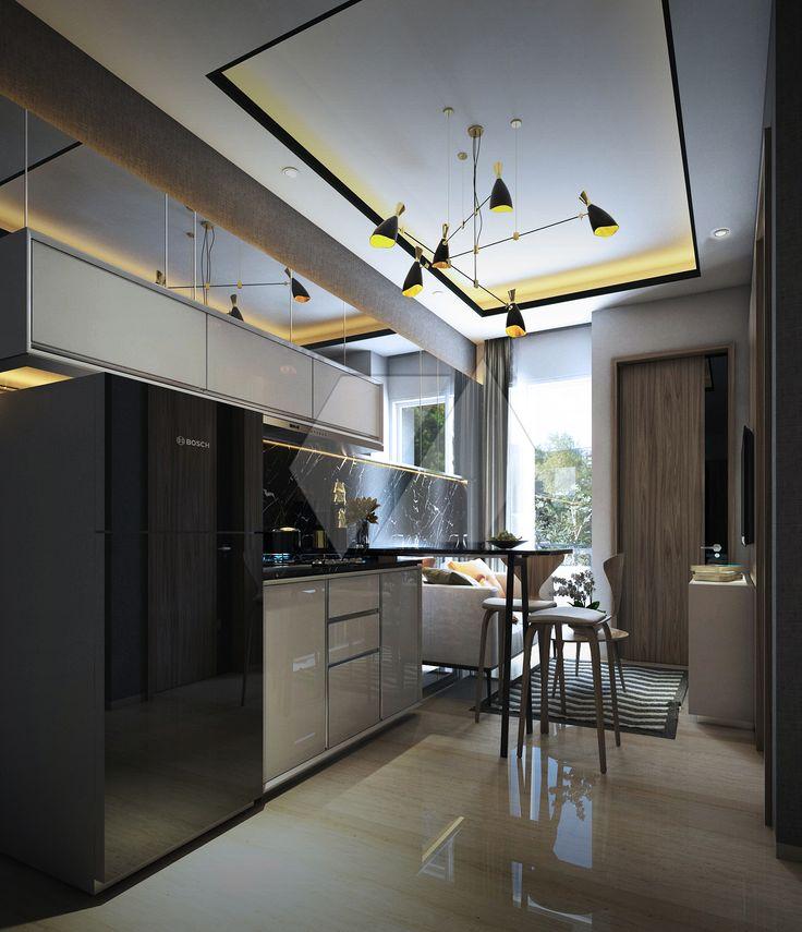 Gaya industrial pada dekorasi dapur | Portofolio By : Dimaz Daforza Design Studio (Interior Designer di Sejasa.com)