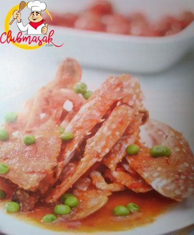 Resep Rajungan Tomat Pedas, Resep Masakan Sehari-Hari Dirumah, Club Masak