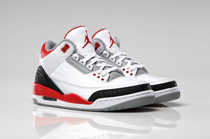"Air Jordan 3 Retro ""Fire Red"""