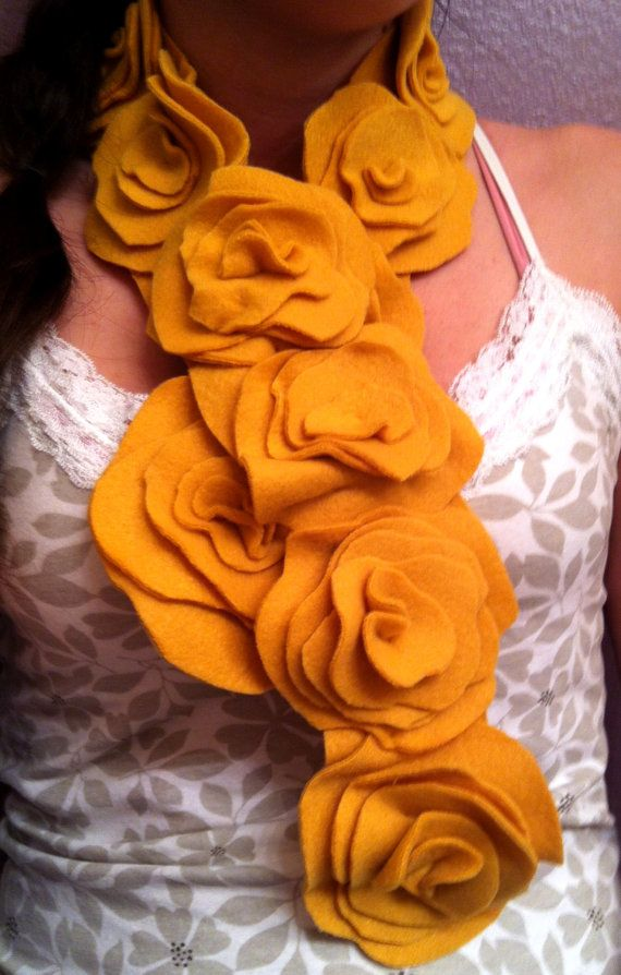 cute scarf! Make with felted sweaters?