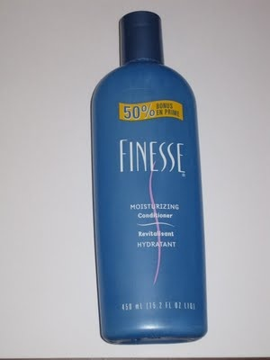 Finesse Shampoo.  I actually miss this product, it made your hair smell fabulous!