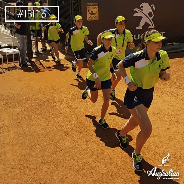 Run fast, ‪#‎IBI16‬ is waiting for you! Enjoy the best ‪#‎tennis‬ experience of the year with ‪#‎Australian‬ ‪#‎officialsponsorIBI16‬ at Internazionali BNL d'Italia. Join the ‪#‎ballboys‬ at Foro Italico - #Rome .
