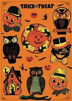 halloween wrap l12 vintage halloweenfall halloweendecorative