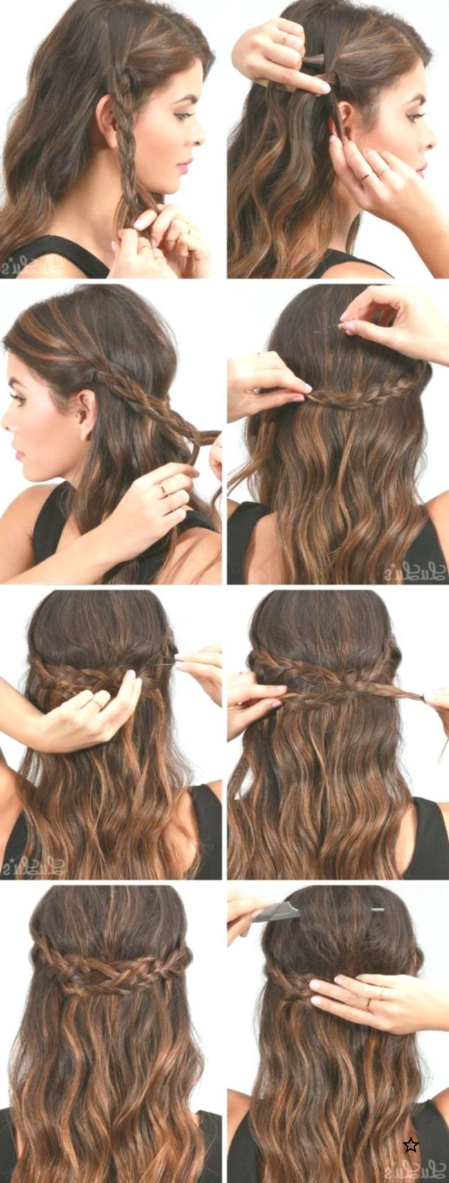 Perfect party hairstyles for long hair easy to do at home step by step 2018 #hai #Easy #hai # ...