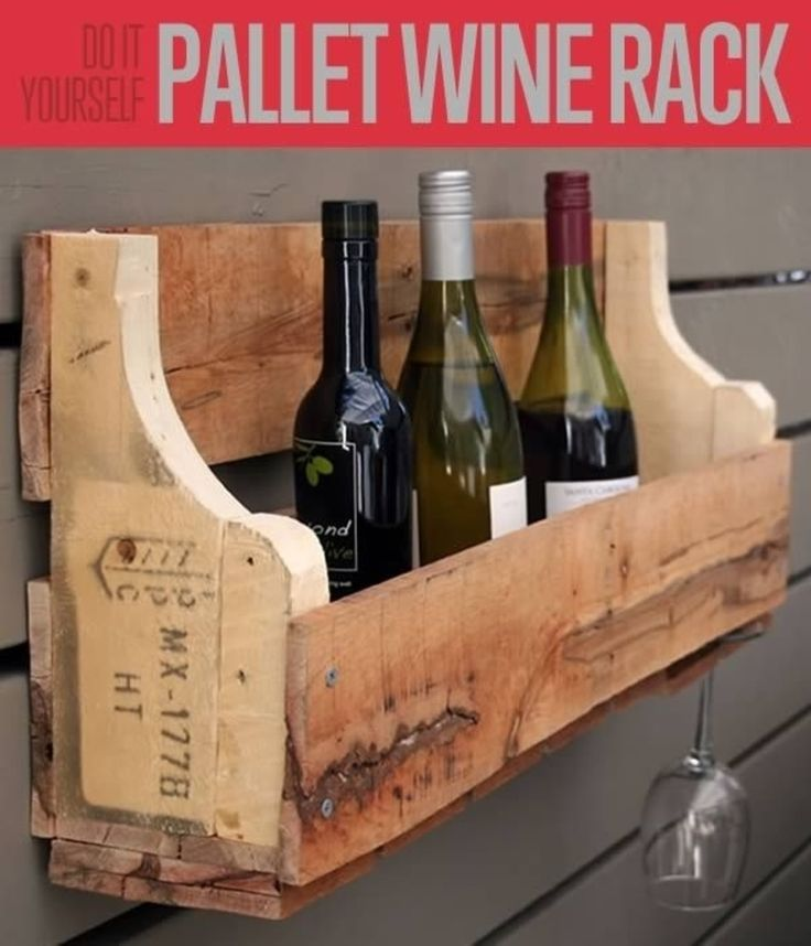 Wine rack diy pallet craft great art pallett this is for Arts and crafts wine rack