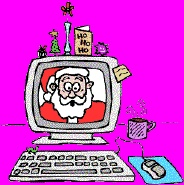 Email Santa & receive email back from him.  You can also track Santa on his travels.