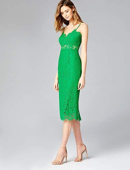 3e6556b5bbc TRUTH   FABLE Robe Midi en Dentelle Femme  Amazon.fr  Vêtements et  accessoires