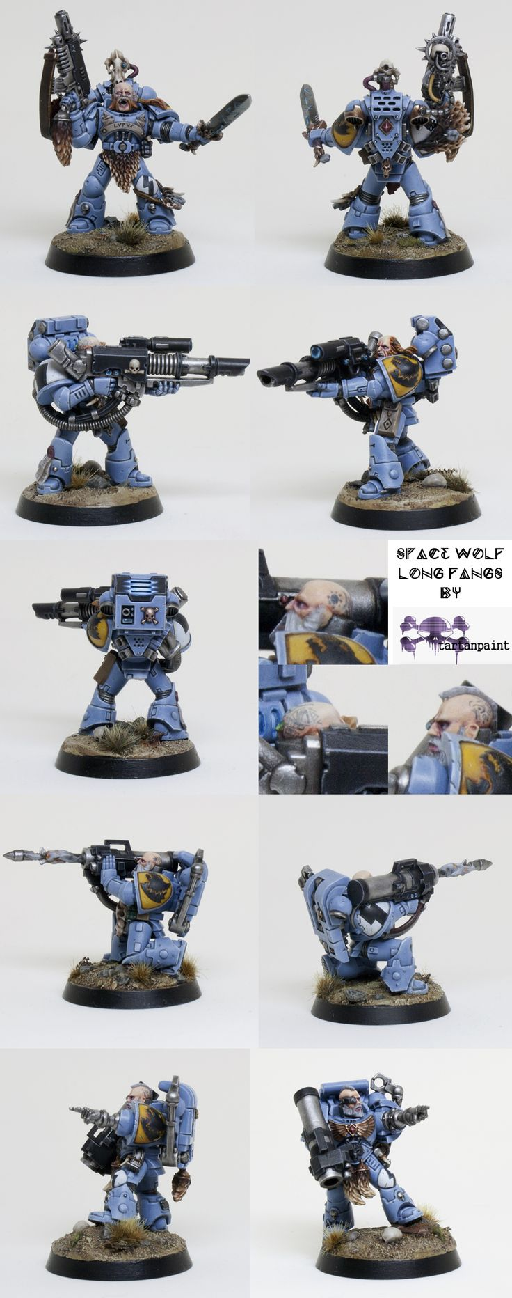 Space Wolves Long Fangs Squad