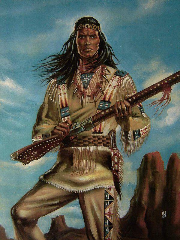 нужно картинки индейцев апачи есть животные, которые