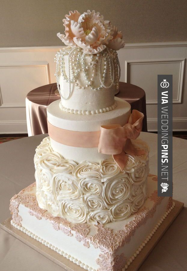 Wedding Cake Ideas For Summer Wedding : 36 best images about Wedding Cakes 2017 on Pinterest ...