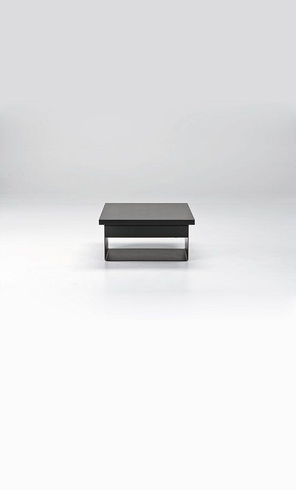 Tavolo e tavolino SEDIT modello Vela. Sistema Syncro. Stabile. Facile da aprire da chiudere. Chiusura assistita anti-schiacciamento. Base contenitore.
