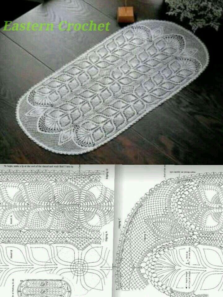 3464 besten crochet patterns for home Bilder auf Pinterest ...