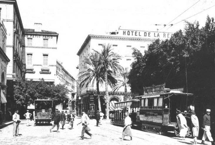 Le début de la rue Bab-El-Oued