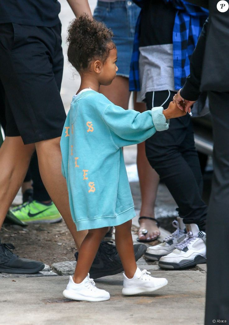 North West à New York, le 7 septembre 2016.