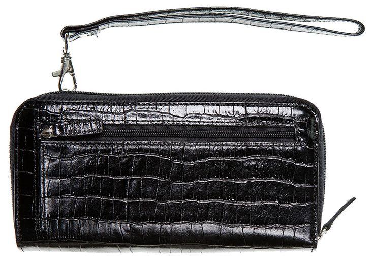 Women's Leather Wallet Purse | Accordion | Wristlet