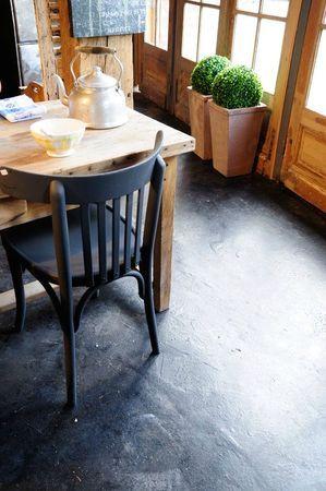 chaise bistrot/peinture mat