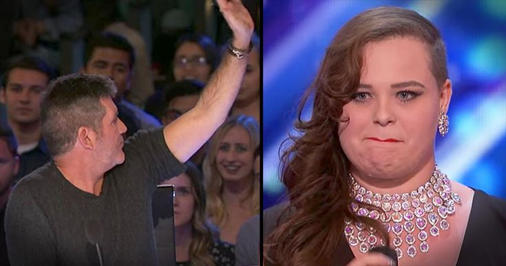 Simon Stops 21-Year-Old's Singing Audition - Inspirational Videos