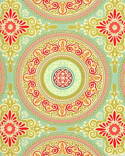 'Secret Garden' collection by Sandi Henderson for Michael Miller Fabrics