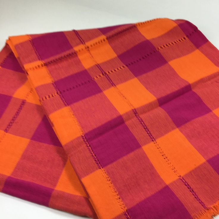 Mexican Tablecloth, Small & Colorful