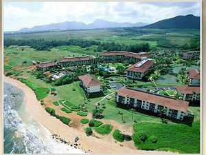 The Hilton Kauai Beach Hotel and Resort is a full-service oceanfront resort thatfeatures lush tropical landscaping, a wonderful pool area for the entire familyand a 3-mile beach to sun or stroll on.