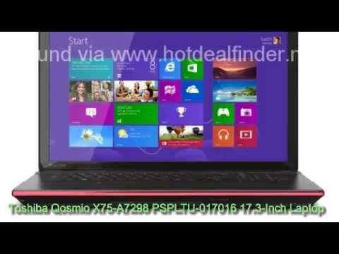Toshiba Qosmio X75-A7298 PSPLTU-017016 17.3 Inch Laptop Black Widow Style http://www.youtube.com/watch?v=J0G76sdeI3U #Qosmio #laptop #X75-A7298