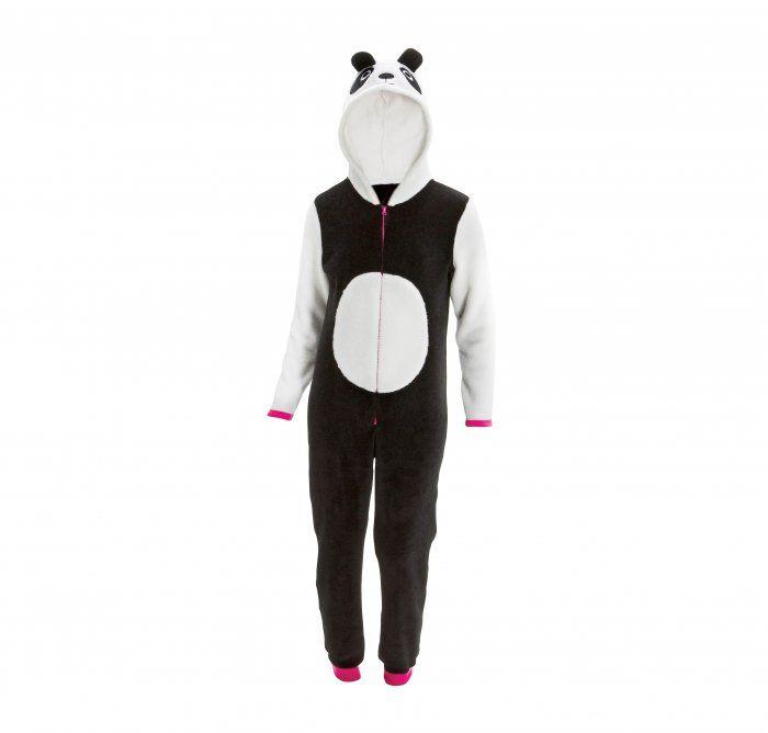 Be as cute as a panda in a panda onesie 7-14 years.